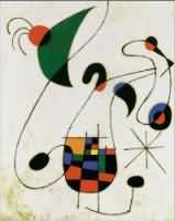 Joan Miro oil painting reproduction